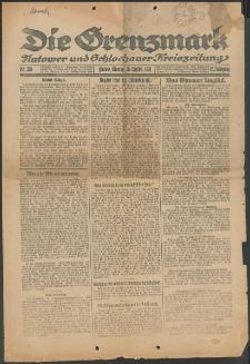 Die Grenzmark. Flatower und Schlochauer Kreiszeitung, 1921, Nr. 226