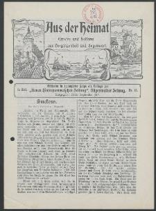 Aus der Heimat. Ernstes und Heiteres aus Vergangenheit und Gegenwart, 1913, Nr. [15]