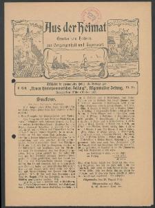 Aus der Heimat. Ernstes und Heiteres aus Vergangenheit und Gegenwart, 1913, Nr. [16]