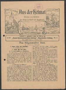Aus der Heimat. Ernstes und Heiteres aus Vergangenheit und Gegenwart, 1913, Nr. [17]