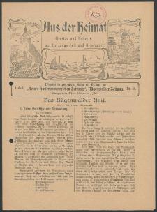 Aus der Heimat. Ernstes und Heiteres aus Vergangenheit und Gegenwart, 1913, Nr. [18]