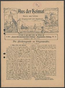 Aus der Heimat. Ernstes und Heiteres aus Vergangenheit und Gegenwart, 1914, Nr. [23]