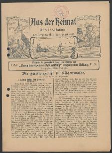 Aus der Heimat. Ernstes und Heiteres aus Vergangenheit und Gegenwart, 1914, Nr. [25]