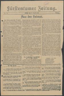 Fürstentumer Zeitung : Beilage, 1922, Nr. 95