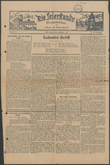 Die Feierstunde : Wochenbeilage der Zeitung für Ostpommern, 1927, Nr. 206