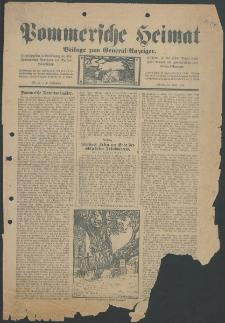 Pommersche Heimat. Beilage zum General-Anzeiger, 1912, Nr. 2