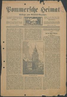 Pommersche Heimat. Beilage zum General-Anzeiger, 1912, Nr. 3