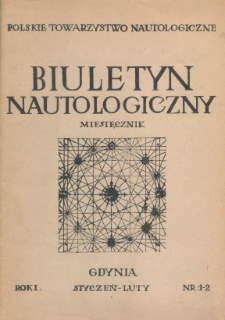 Biuletyn Nautologiczny, nr 1-2