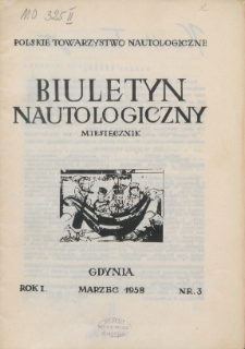 Biuletyn Nautologiczny, nr 3