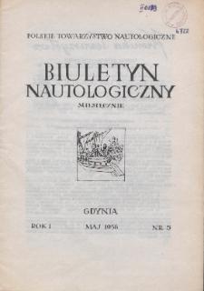 Biuletyn Nautologiczny, nr 5