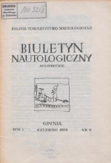 Biuletyn Nautologiczny, nr 6