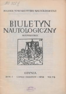 Biuletyn Nautologiczny, nr 7-8
