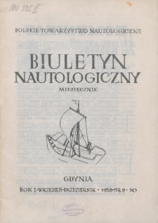 Biuletyn Nautologiczny, nr 9-10