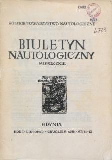Biuletyn Nautologiczny, nr 11-12