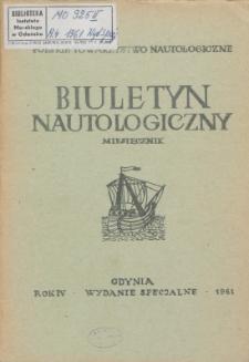 Biuletyn Nautologiczny, 1961 r.