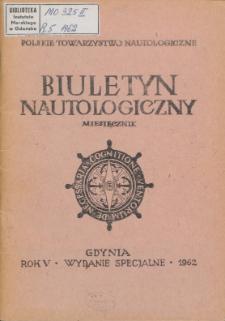 Biuletyn Nautologiczny, 1962 r.