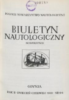 Biuletyn Nautologiczny, nr 4-6, 1959 r.
