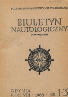 Biuletyn Nautologiczny, nr 1-3, 1965 r.