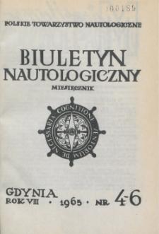 Biuletyn Nautologiczny, nr 4-6, 1965 r.