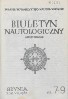 Biuletyn Nautologiczny, nr 7-9, 1965 r.