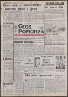 Głos Pomorza, 1986, lipiec, nr 171