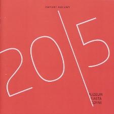 2015 : raport roczny