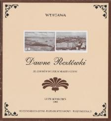 Dawne pocztówki : ze zbiorów Muzeum Miasta Gdyni