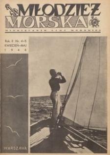 Młodzież Morska : miesięcznik Ligi Morskiej, 1946, nr 4-5