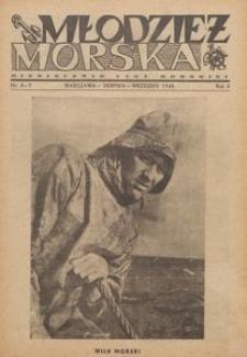 Młodzież Morska : miesięcznik Ligi Morskiej, 1946, nr 8-9