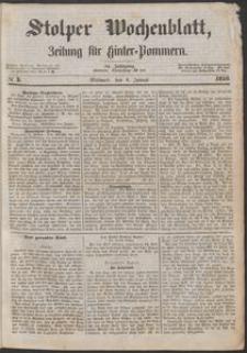 Stolper Wochenblatt. Zeitung für Hinterpommern № 3