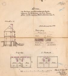 Dokumentacja techniczna budynku przy dawnej ulicy Mühlenthormauer 10 - ulica nie istnieje