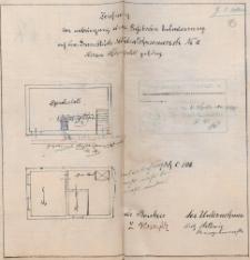 Dokumentacja techniczna budynku przy dawnej ulicy Mühlenthormauer 16 - ulica nie istnieje