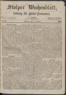 Stolper Wochenblatt. Zeitung für Hinterpommern № 21