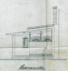 Dokumentacja techniczna budynku przy dawnej ulicy Mühlenthormauer 33 - ulica nie istnieje