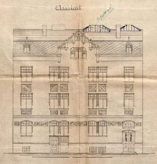 Dokumentacja techniczna budynku przy ulicy Francesco Nullo 17/18