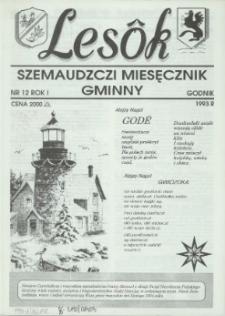 Lesôk Szemaudzczi Miesęcznik Gminny, 1993, godnik, Nr 12