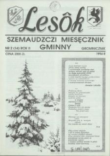 Lesôk Szemaudzczi Miesęcznik Gminny, 1994, gromnicznik, Nr 2 (14)