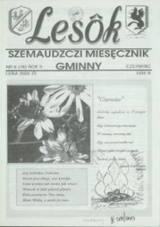 Lesôk Szemaudzczi Miesęcznik Gminny, 1994, czerwińc, Nr 6 (18)