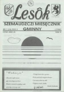 Lesôk Szemaudzczi Miesęcznik Gminny, 1994, lëpińc, Nr 7 (19)