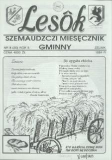 Lesôk Szemaudzczi Miesęcznik Gminny, 1994, zélnik, Nr 8 (20)