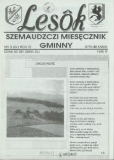 Lesôk Szemaudzczi Miesęcznik Gminny, 1995, strumiannik, Nr 3 (27)