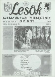 Lesôk Szemaudzczi Miesęcznik Gminny, 1995, môj, Nr 5 (29)