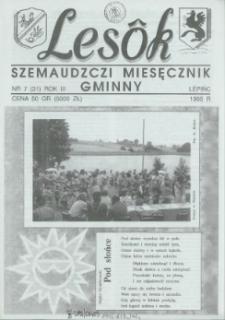 Lesôk Szemaudzczi Miesęcznik Gminny, 1995, lëpińc, Nr 7 (31)