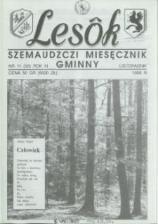 Lesôk Szemaudzczi Miesęcznik Gminny, 1995, listopadnik, Nr 11 (35)