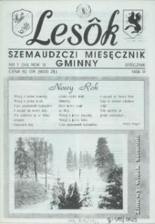 Lesôk Szemaudzczi Miesęcznik Gminny, 1996, stëcznik, Nr 1 (34)