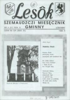 Lesôk Szemaudzczi Miesęcznik Gminny, 1996, łżekwiat, Nr 4 (37)