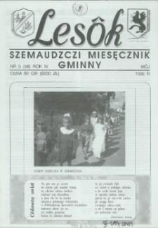 Lesôk Szemaudzczi Miesęcznik Gminny, 1996, môj, Nr 5 (38)