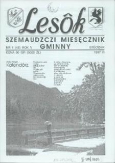 Lesôk Szemaudzczi Miesęcznik Gminny, 1997, stëcznik, Nr 1 (46)