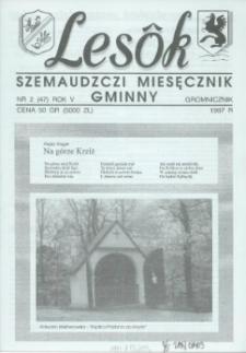 Lesôk Szemaudzczi Miesęcznik Gminny, 1997, gromnicznik, Nr 2 (47)