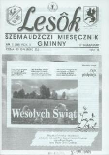 Lesôk Szemaudzczi Miesęcznik Gminny, 1997, strumiannik, Nr 3 (48)